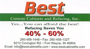 Best Custom Cabinets and Refacing