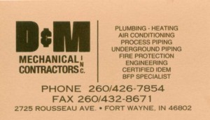 D&amp;M Mechanical Contractors